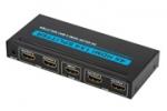 HDMI 2.0 verdeler 60Hz voor 4 beeldschermen 4K Ultra HD
