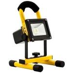 Avide Slim oplaadbare Led Bouwlamp Flood Light 20W 1000Lumen IP65