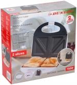 Dunlop Tosti-apparaat sandwiches maker 750W