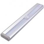 Kastverlichting 10 LED met bewegingssensor 19cm kleefstrip montage