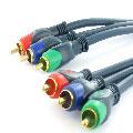 High End component video kabel 5.00 m.