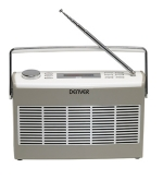 Denver DAB-37 Digital DAB Radio Retro Grey draagbaar
