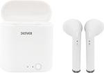 Denver TWQ-40 Truly Wireless Bluetooth Earbuds met Oplaadcase Wit