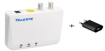 EOC05 MoCa Teleste 1G coax adapter + USB adapter (2020)
