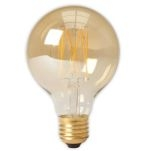 Calex Gold Filament led Globe G80 4w (35w) e27 dimbaar