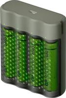 Gp USB snel batterijlader incl 4 x Recyko AA